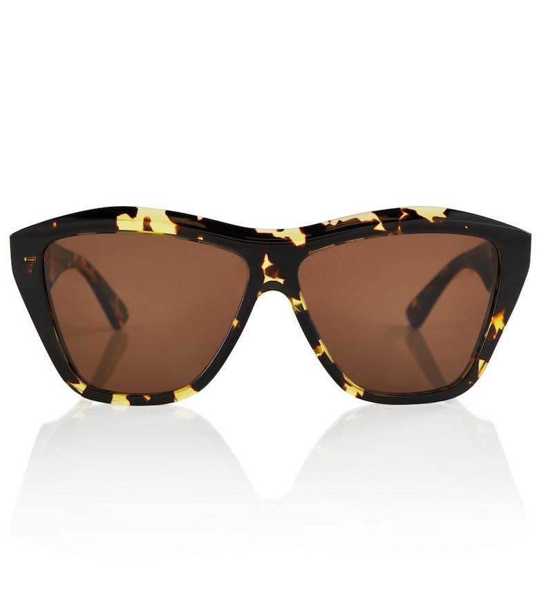 Bottega Veneta Tortoiseshell acetate sunglasses in brown
