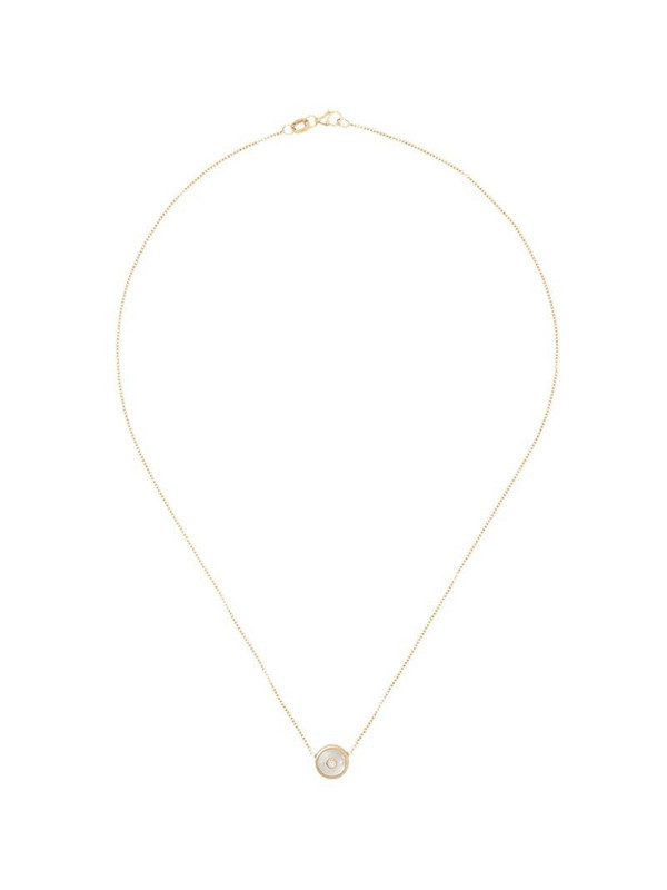 Retrouvaí 14kt yellow gold diamond and pearl necklace