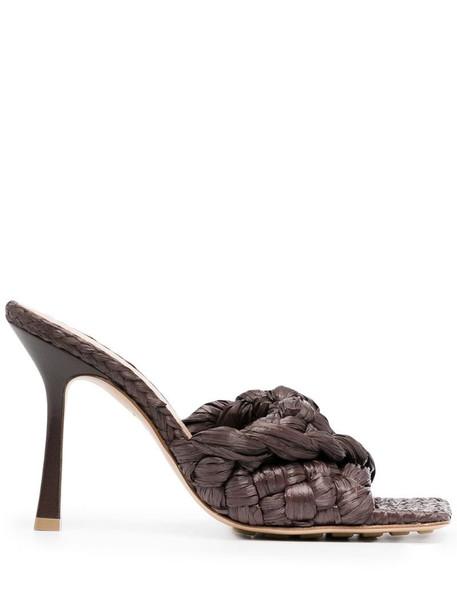 Bottega Veneta Stretch sandals in brown