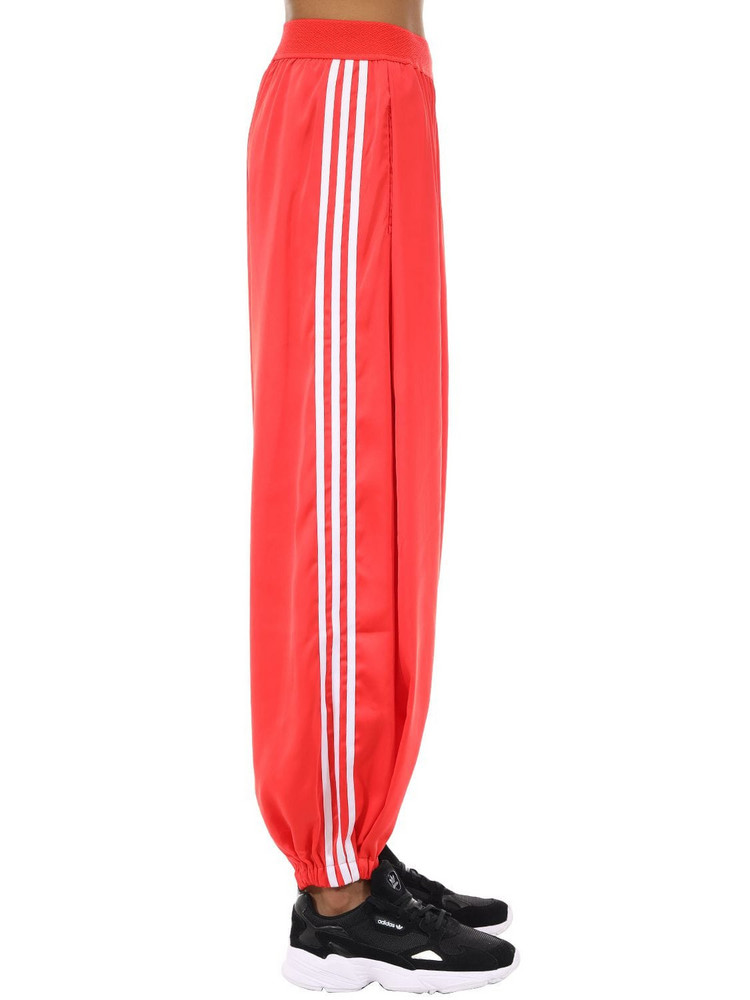 ADIDAS ORIGINALS Track Pants W/side Bands in red