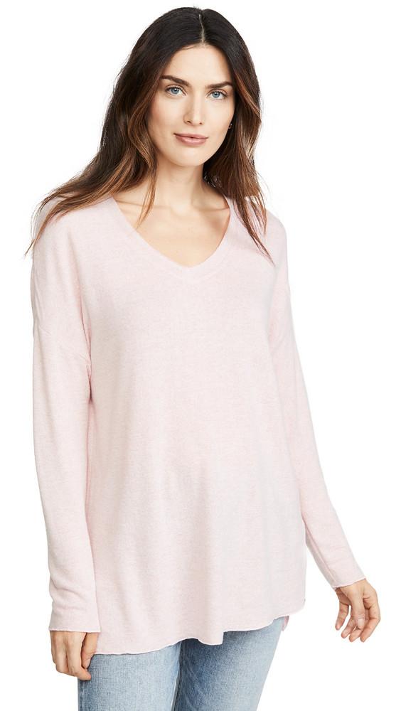 Z Supply Marled Sweater in blush