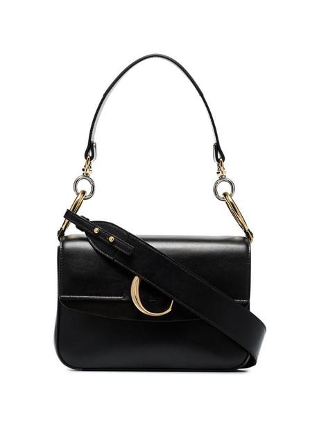 Chloé small Chloé C shoulder bag in black