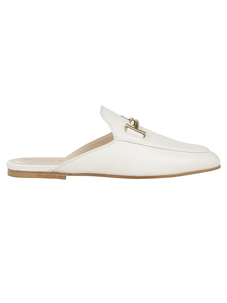 Tod's Double T Mules in white