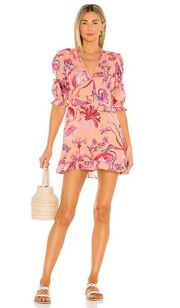 Banjanan Masie Dress in Peach in blush