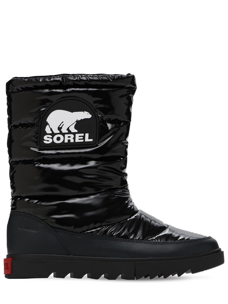 SOREL Joan Of Arctic Next Lite Mid Puffy Boots in black