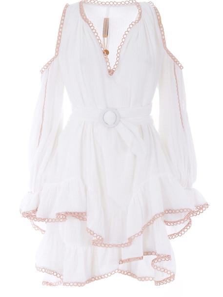 Maria Lucia Hohan Della Dress in bianco