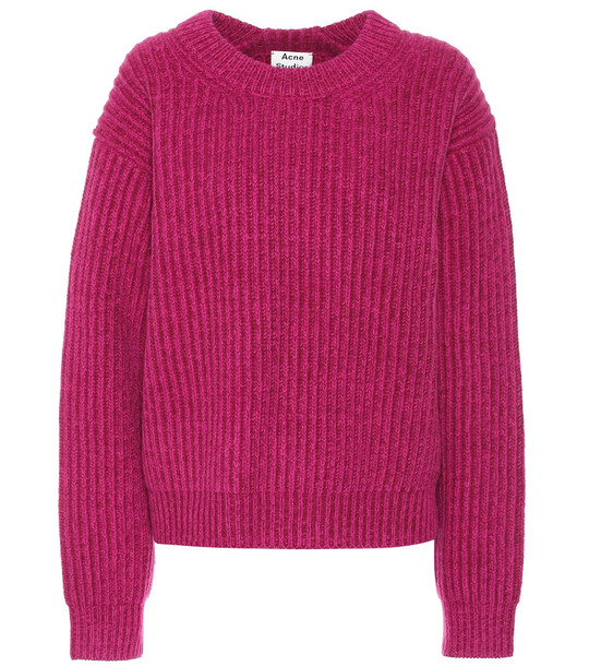 Acne Studios Wool sweater in pink