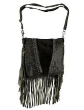 bag,fringe bag genuine leather. shoulder bag