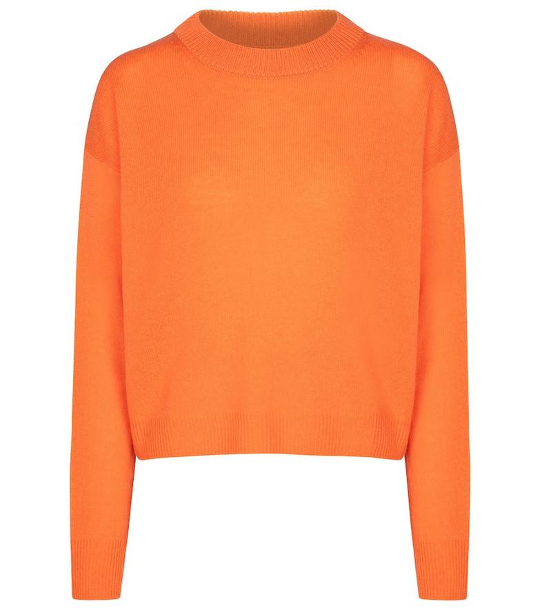 Jardin des Orangers Wool and cashmere sweater in orange