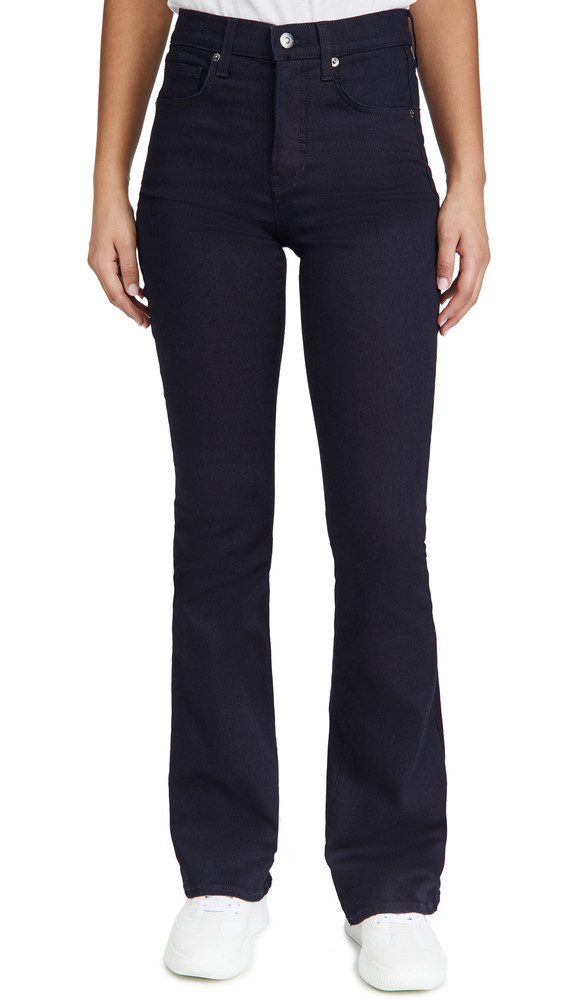 Veronica Beard Jean Beverly High Rise Skinny Flare Jeans in indigo