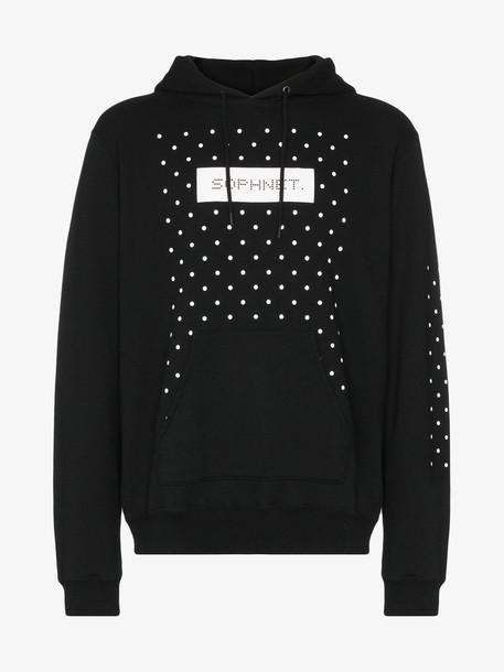 Sophnet. Sophnet. logo print hoodie