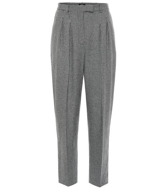 A.P.C. Cheryl high-rise straight pants in black
