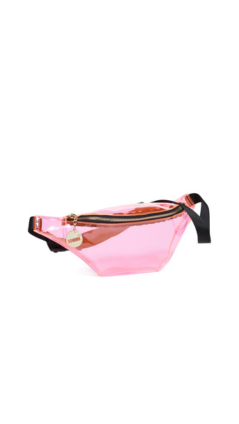 Studio 33 Ash Oversized Belt Bag in pink