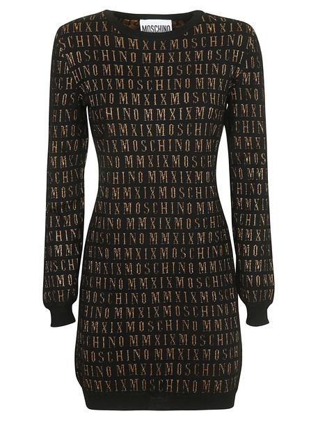 Moschino Logo Print Dress