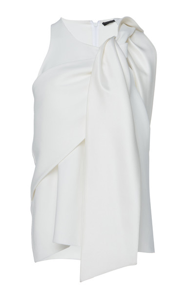 Haider Ackermann Draped Sleeveless Top Size: 36 in white