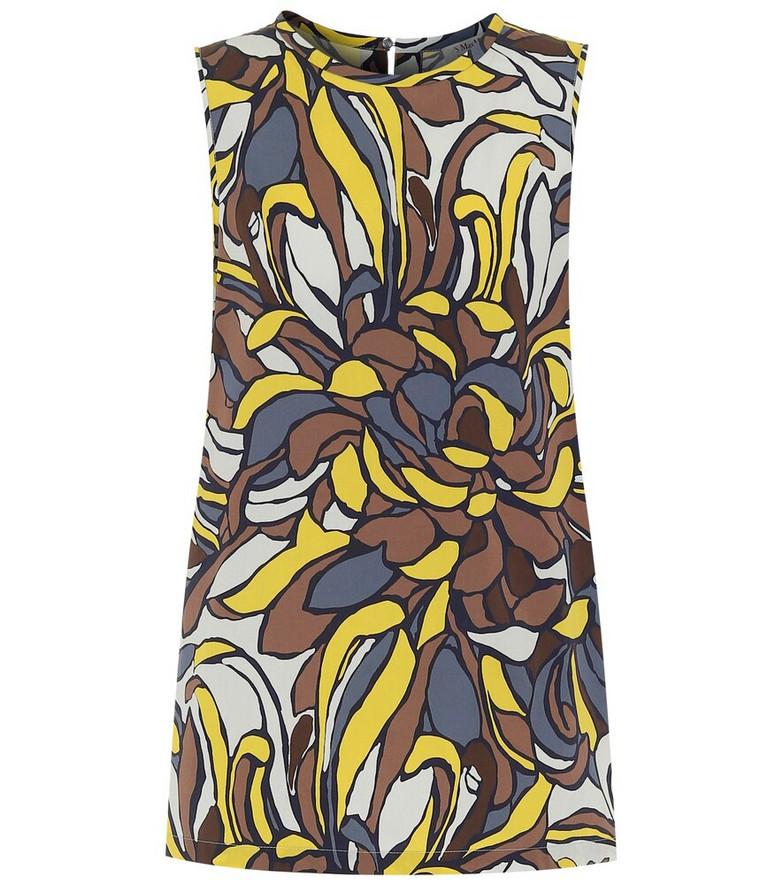 S Max Mara Lora floral cotton top
