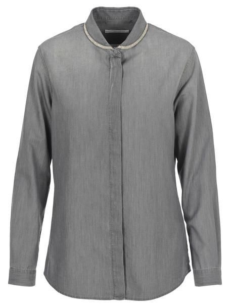 Fabiana Filippi Shirt in grey