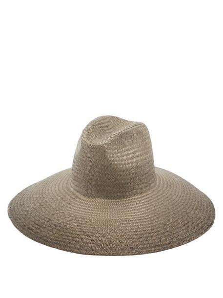 Reinhard Plank Hats - Mutona Papier Hat - Womens - Brown