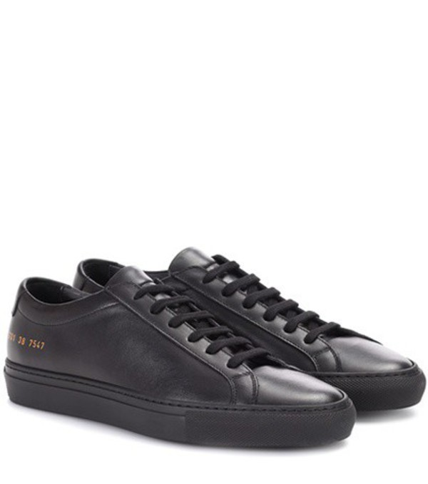 Common Projects Original Achilles leather sneakers in black