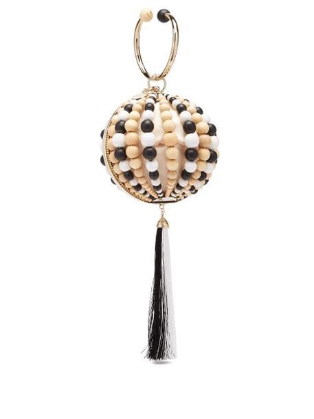 Rosantica By Michela Panero - X Peter Pilotto Bead And Tassel Ball Clutch - Womens - Multi