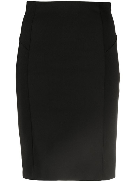 Patrizia Pepe fitted mini pencil skirt in black