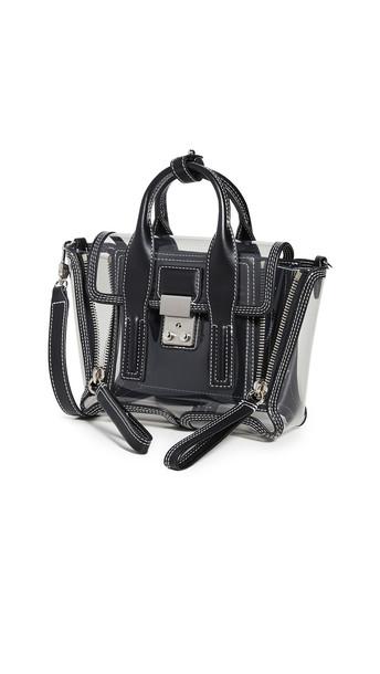 3.1 Phillip Lim Transparent Pashli Mini Satchel Bag