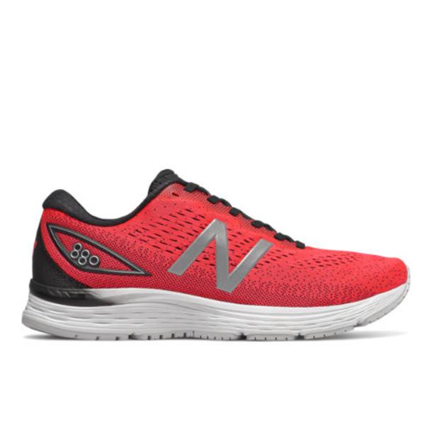 New Balance 880v9 Men's Neutral Cushioned Shoes - Red/Black/White (M880RW9)