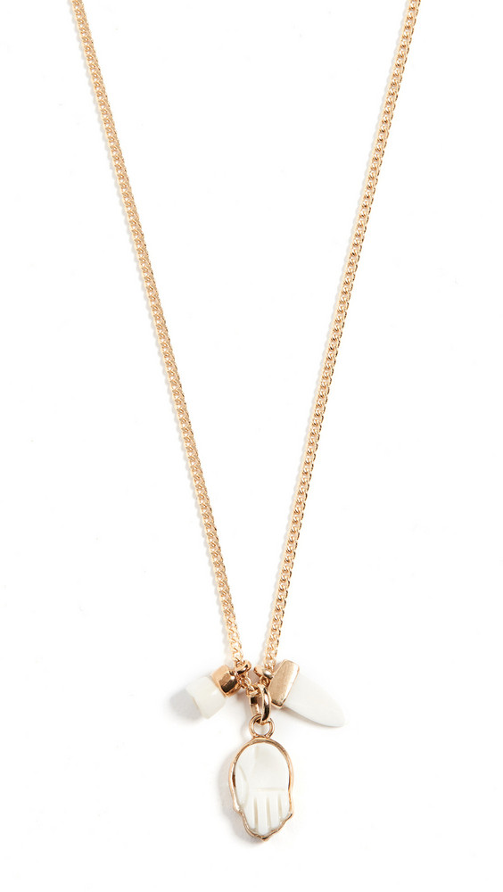 Isabel Marant New Its All Ri Necklace in ecru