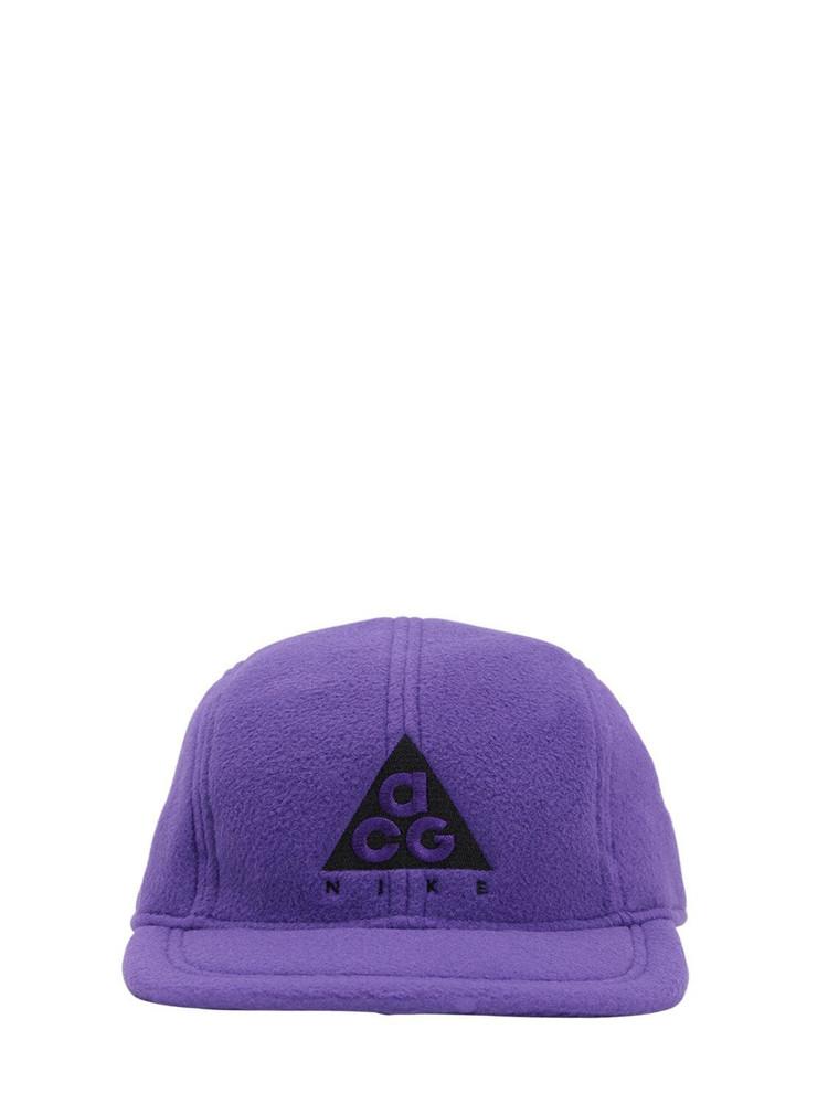 NIKE ACG Acg Technical Baseball Hat in midnight / purple