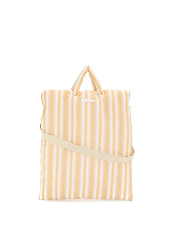 Our Legacy Pillow gradient-effect tote bag in yellow