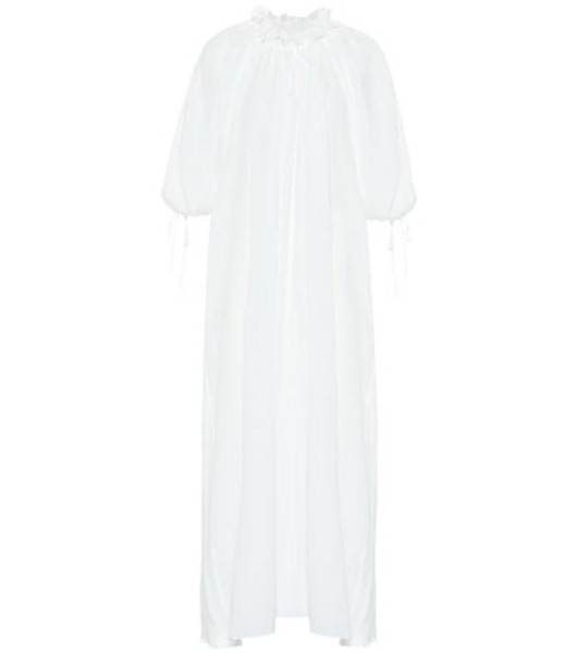 Three Graces London Almost A Honey Moon cotton dress in white