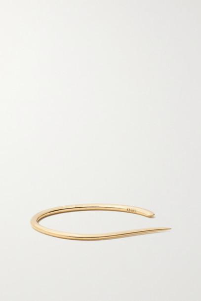 KHIRY Fine - Nude 18-karat Gold Cuff