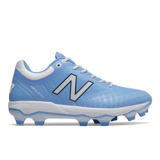 New Balance 4040v5 TPU Men's Cleats and Turf Shoes - Blue/White (PL4040S5)