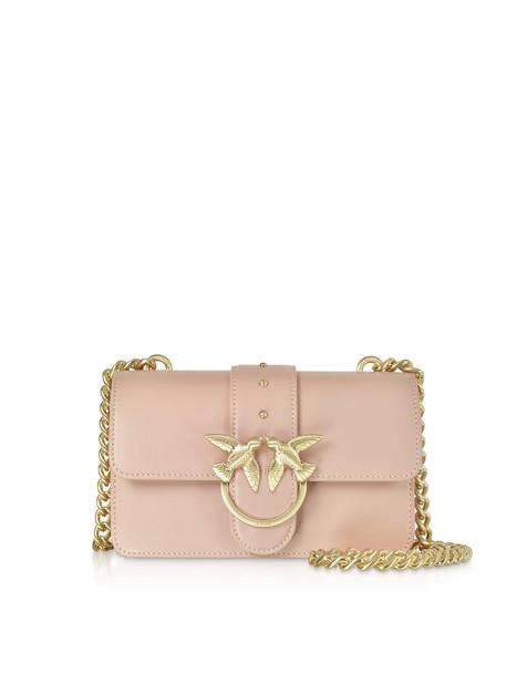 Pinko Mini Love Crossbody Bag in pink