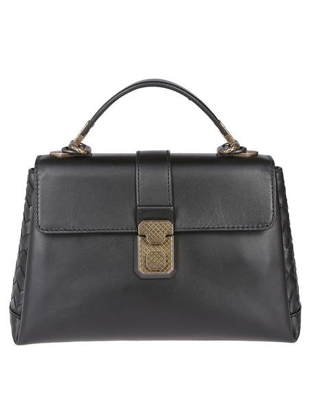 Bottega Veneta Piazza Shoulder Bag in black