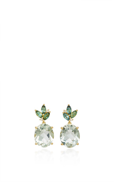 Jamie Wolf Floral Drop Earring in gold