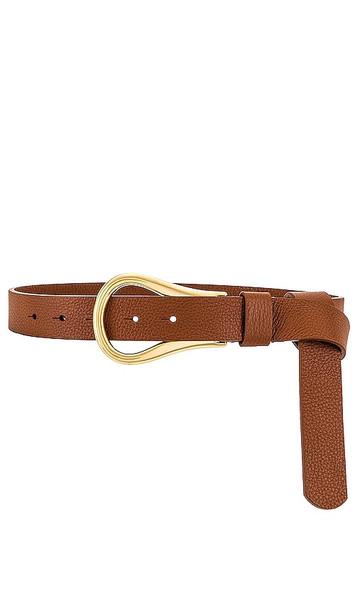 B-Low the Belt Ryder Wrap Belt in Cognac in gold