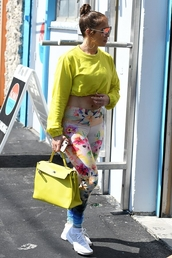 top,leggings,crop tops,cropped,jennifer lopez,celebrity,casual