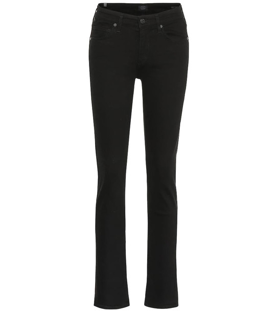 Citizens of Humanity Racer low-rise skinny jeans in black