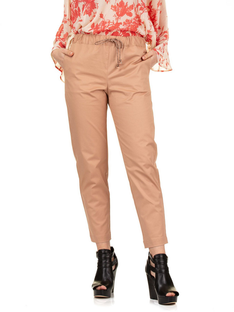 SEMICOUTURE Buddy Pants in beige