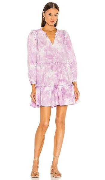 Generation Love Rumi Tie Dye Dress in Lavender in lilac