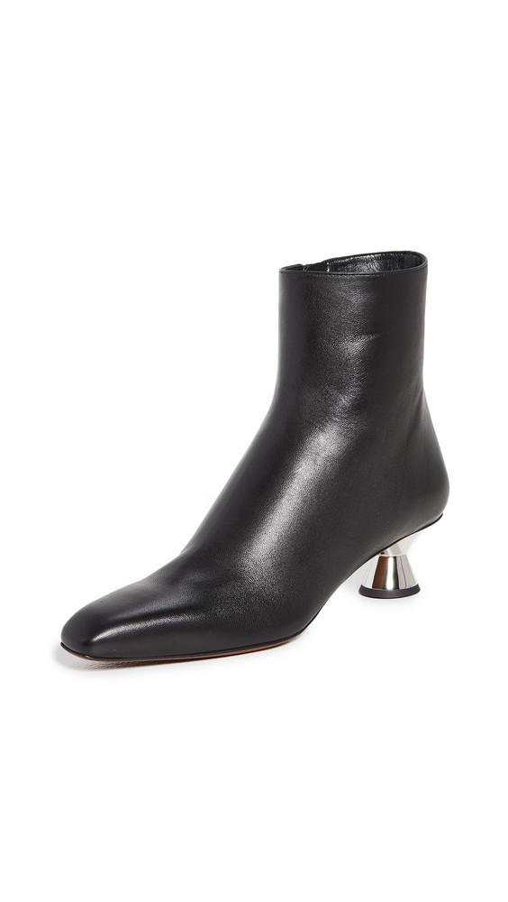 Proenza Schouler Low Heel Booties in black