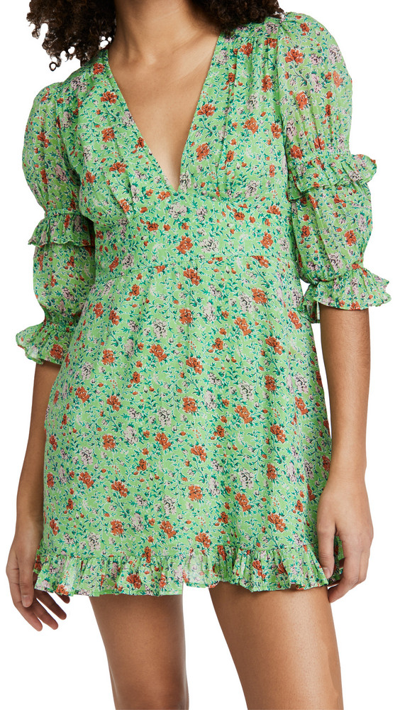 Banjanan Masie Dress in green