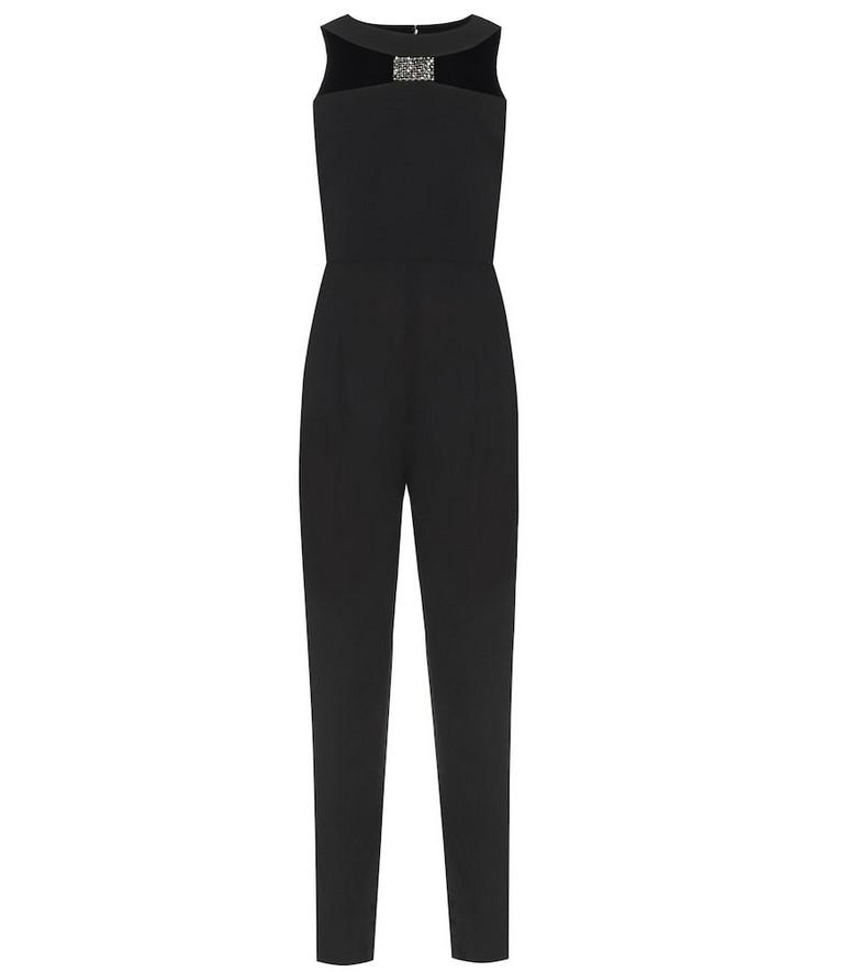 Givenchy Embellished wool jumpsuit in black
