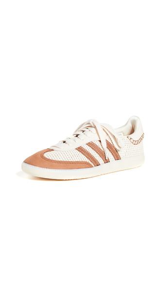 adidas x Wales Bonner Samba Sneakers in brown / cream / white