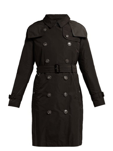 coat trench coat black