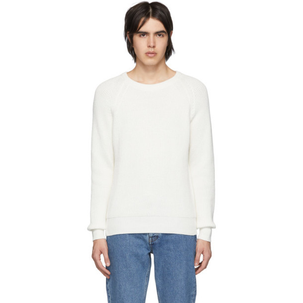 Harmony White Wade Sweater