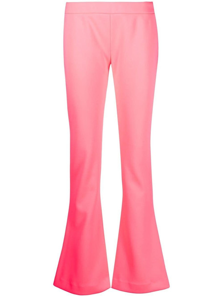 Balmain low-rise flared trousers - Pink