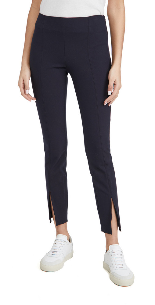 Theory Slit Leggings in navy
