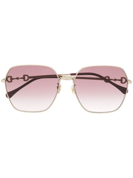 Gucci Eyewear Chinese New Year sunglasses in gold